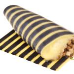 striped omelette